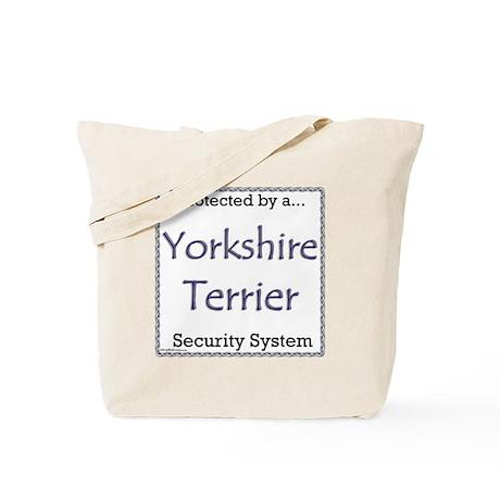 Yorkie Security Tote Bag
