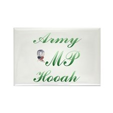 army mp hooah Rectangle Magnet