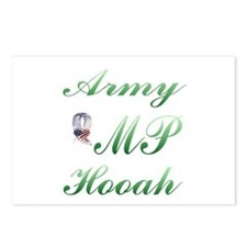 army mp hooah Postcards (Package of 8)