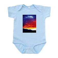 Vivid Sunset Infant Creeper