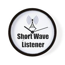 Short Wave Listener Wall Clock