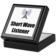 Short Wave Listener Keepsake Box