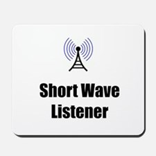 Short Wave Listener Mousepad