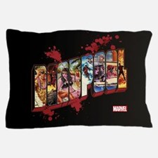 Deadpool Cinematic Pillow Case