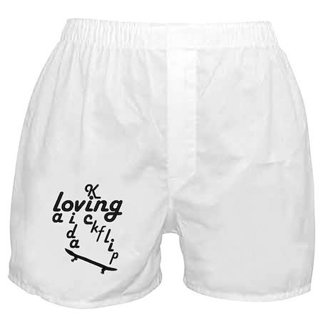 loving la vida kickflip Boxer Shorts