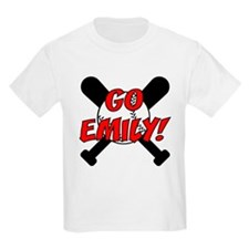 Go Emily! (front only) T-Shirt