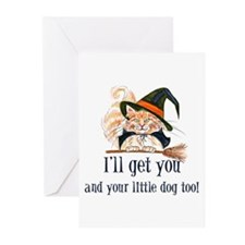 I'll get you! Greeting Cards (Pk of 10)