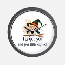 I'll get you! Wall Clock