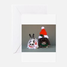 Funny Rabbit christmas Greeting Cards (Pk of 20)