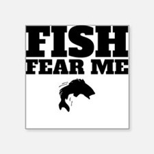 Fish Fear Me Sticker