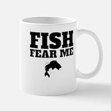 Fish Fear Me Mugs