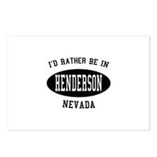 I'd Rather Be in Henderson, N Postcards (Package o