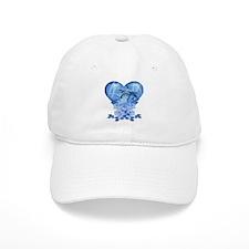 Dolphin Hearts Baseball Cap