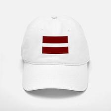 Latvian Flag Baseball Baseball Cap