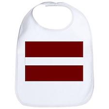 Latvian Flag Bib