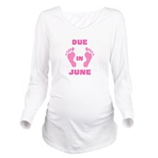 Dateable Long Sleeve Maternity T-Shirt
