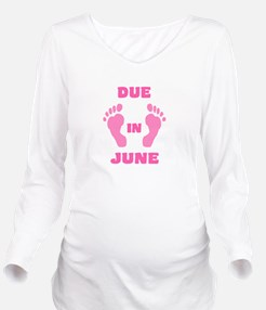 Expectant mommy Long Sleeve Maternity T-Shirt