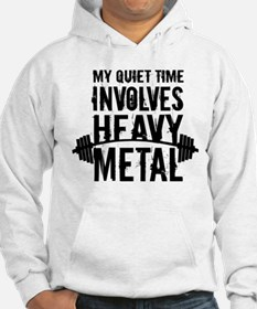 My Quiet Time Involves Heavy Metal Jumper Hoody