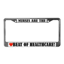 Nursing Nurse License Plate Frame