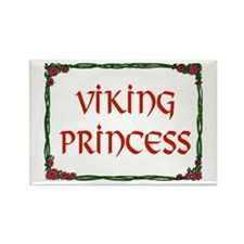 VIKING PRINCESS Rectangle Magnet