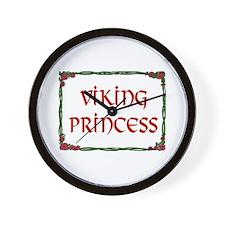 VIKING PRINCESS Wall Clock