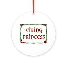 VIKING PRINCESS Ornament (Round)