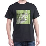 SurvivalBlog Dark T-Shirt - Full Size Logo