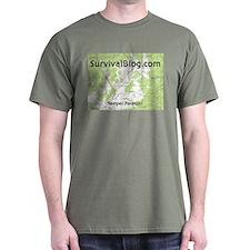SurvivalBlog T-Shirt - Small Logo
