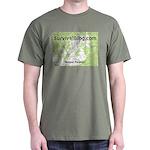 SurvivalBlog Dark T-Shirt - Small Logo