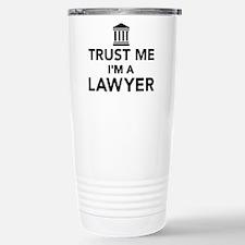 Trust me I'm a lawyer Travel Mug
