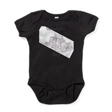 Unique Trucker Baby Bodysuit