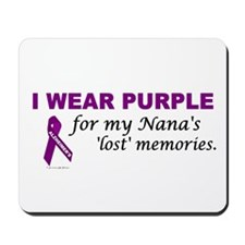 My Nana's Lost Memories Mousepad