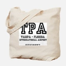 AIRPORT CODES - TPA - TAMPA, FLORIDA Tote Bag