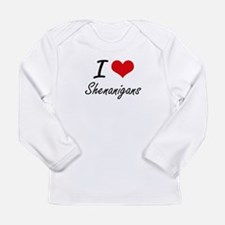 I Love Shenanigans Long Sleeve T-Shirt