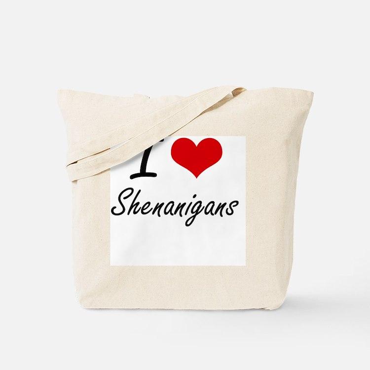 I Love Shenanigans Tote Bag