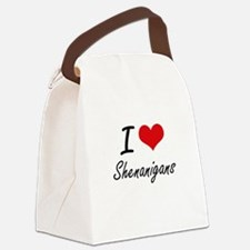 I Love Shenanigans Canvas Lunch Bag