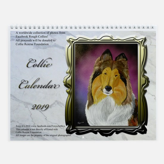 2016 Collie Wall Calendar