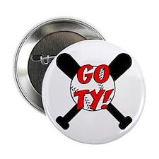 Go Ty! Baseball Button