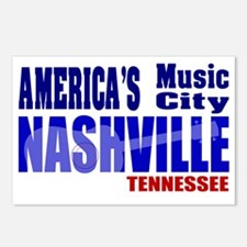 Nashville America's Music Postcards (Package of 8)