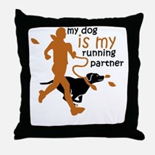 Cute Shelter rescue dogs Throw Pillow
