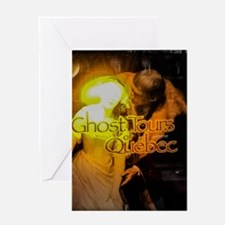 Ghost Tours Of Quebec Greeting Cards