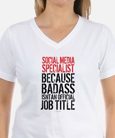 Social Media Badass T-Shirt