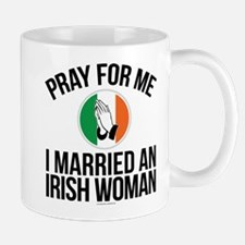 Married an Irish Woman Mugs