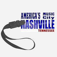 Nashville America's Music City-RWB Luggage Tag