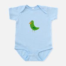 Green bird Body Suit