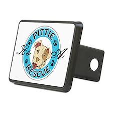 It's A Pittie Rescue Hitch Cover