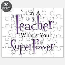 Super Teacher Puzzle