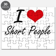 I Love Short People Puzzle