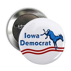 Iowa Democrat Button