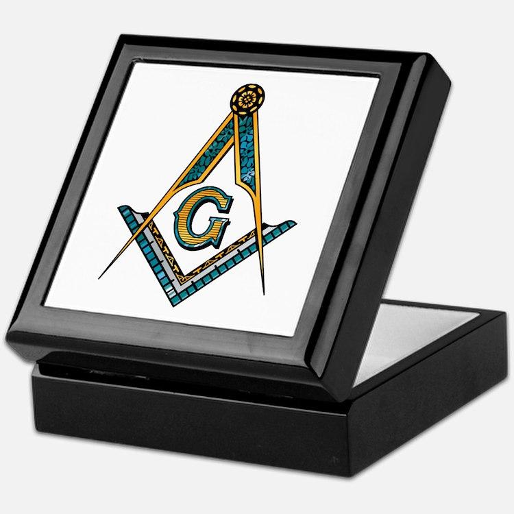 S & C Square Keepsake Box